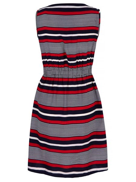 Mela London Stripe Print Day Dress