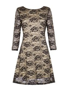 Mela Loves London Floral Lace Dress