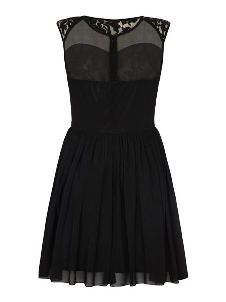 Mela London Embroidered Lace Dress