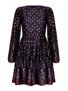 Mela Loves London Floral Sleeved Dress