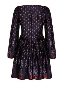 Mela London Floral Sleeved Dress