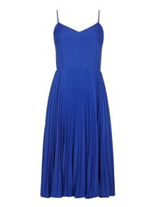 Yumi Pleated Strappy Dress