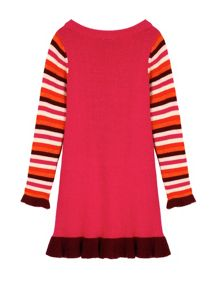 Uttam Poppy Print Jumper Dress
