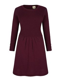 Rib Knit Jumper Dress