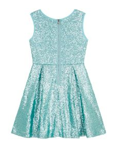 Yumi Girls Girls Sequin Skater Dress