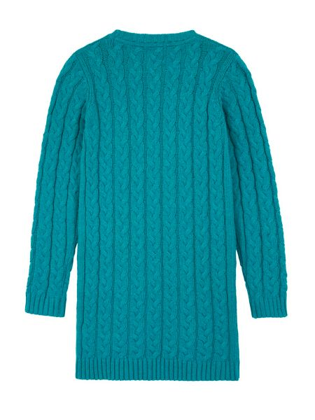 Yumi Girls Girls Embellished Cable Jumper Dress