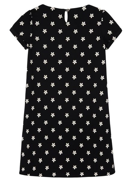 Yumi Girls Girls Daisy Print Shift Dress