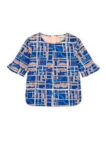 Girls Notting Hill Print Shell Top