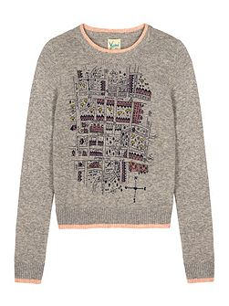Notting Hill Print Jumper