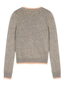 Yumi Girls Notting Hill Print Jumper