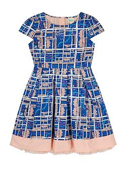 Notting Hill Print Box Pleat Dress
