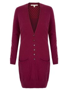 Uttam Boutique Long Knitted Cardigan