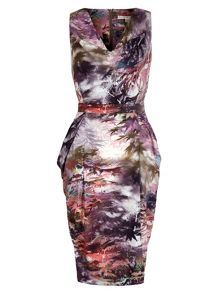Uttam Boutique Maple Print Dress