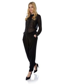 Yumi Wrap Front Trousers