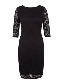 Yumi Lace Fitted Occasion Dress