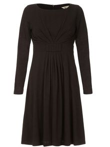 Yumi Long Sleeve Midi Dress