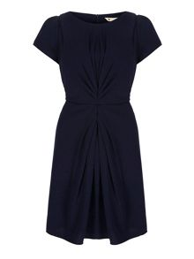 Ruched Fitted Dress
