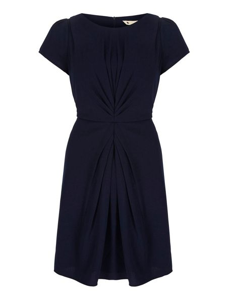 Yumi Ruched Fitted Dress