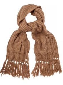 Yumi Knitted Pocket Scarf