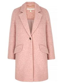 Uttam Boutique Textured Boyfriend Coat