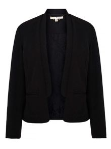 Uttam Boutique Lace Lined Structured Jacket
