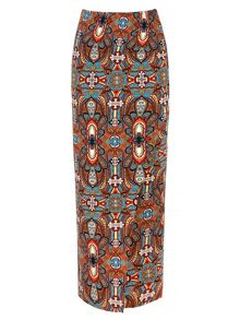 Moroccan Tribal Printed Tube Skirt