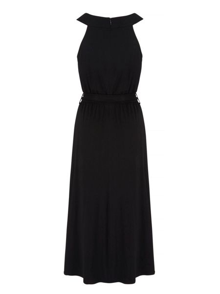 Yumi Tie Waist Maxi Dress