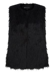 Faux Fur Sleeveless Gilet