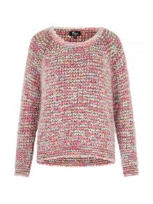 Multicolour Chunky Knit Jumper