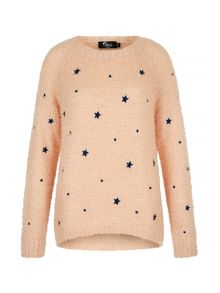 Mela Loves London Star Print Jumper