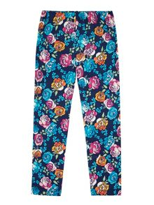 Uttam Girls Floral Print Leggings