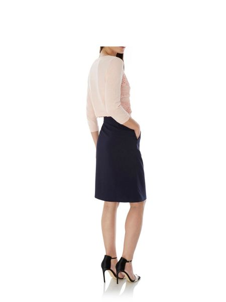 Uttam Boutique Ponte Wrap Skirt