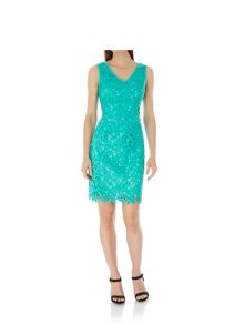 Uttam Boutique Lace Occasion Dress