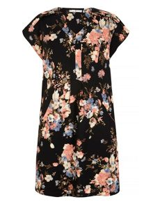 Uttam Boutique Floral Print Shift Dress