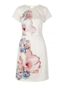 Uttam Boutique Cherry Blossom Print Party Dress