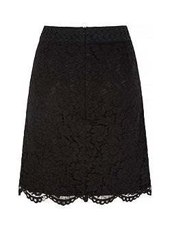 Mixed Lace Skirt