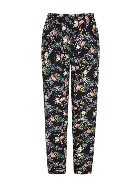 Yumi Bird Print Trousers