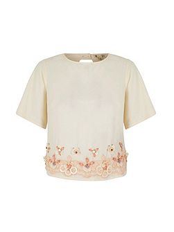 Embellished Shell Top