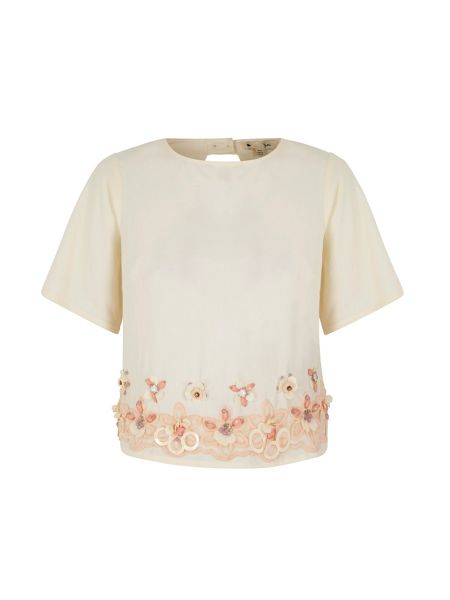 Yumi Embellished Shell Top