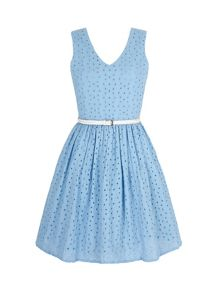 Broderie Anglaise Summer Dress
