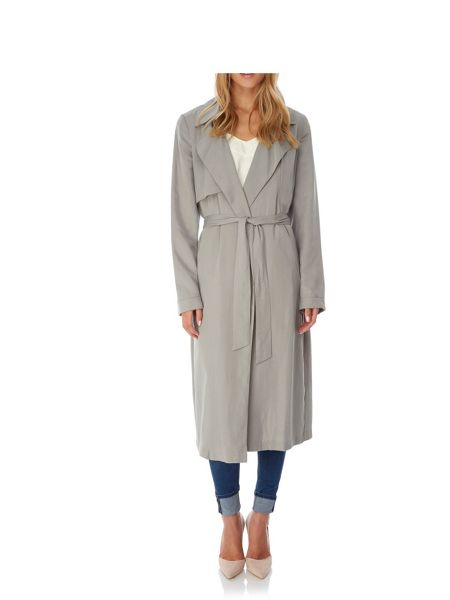 Yumi Slouch Trench Coat