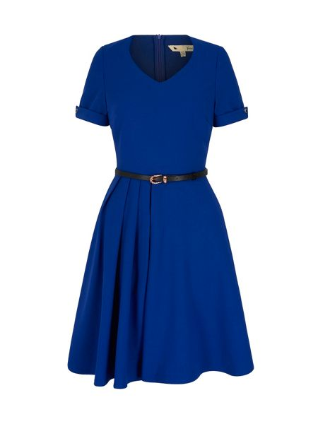 Yumi Pleated Day Dress