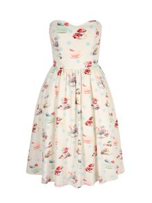 Yumi Tea and Macaroons Bandeau Dress