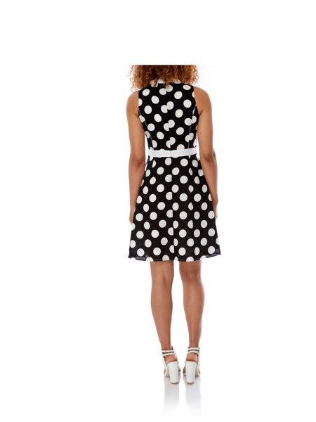 Yumi Polka Dot Shirt Dress