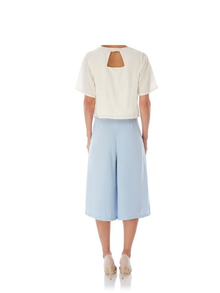 Yumi Wide Leg Culottes with belt