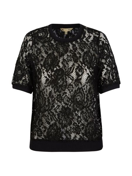Yumi Lace Short Sleeve Top