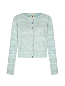 Yumi Long Sleeve Pointelle Cardigan