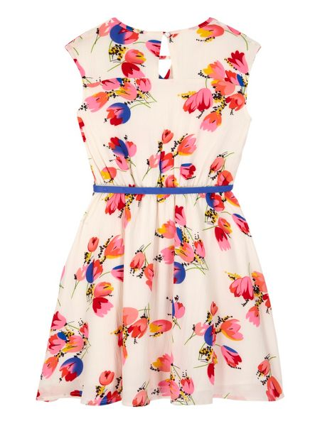 Yumi Girls Girls Tulip Print Day Dress