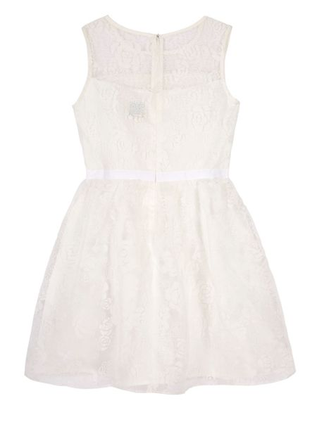 Yumi Girls Girls Rose Floral Party Dress