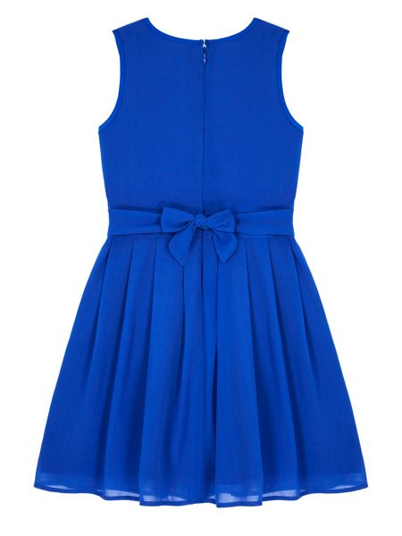 Yumi Girls Girls Lace Pleated Dress